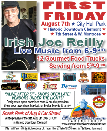 Clermont First Friday Family Food Trucks @ City Hall Park   Clermont   Florida   United States