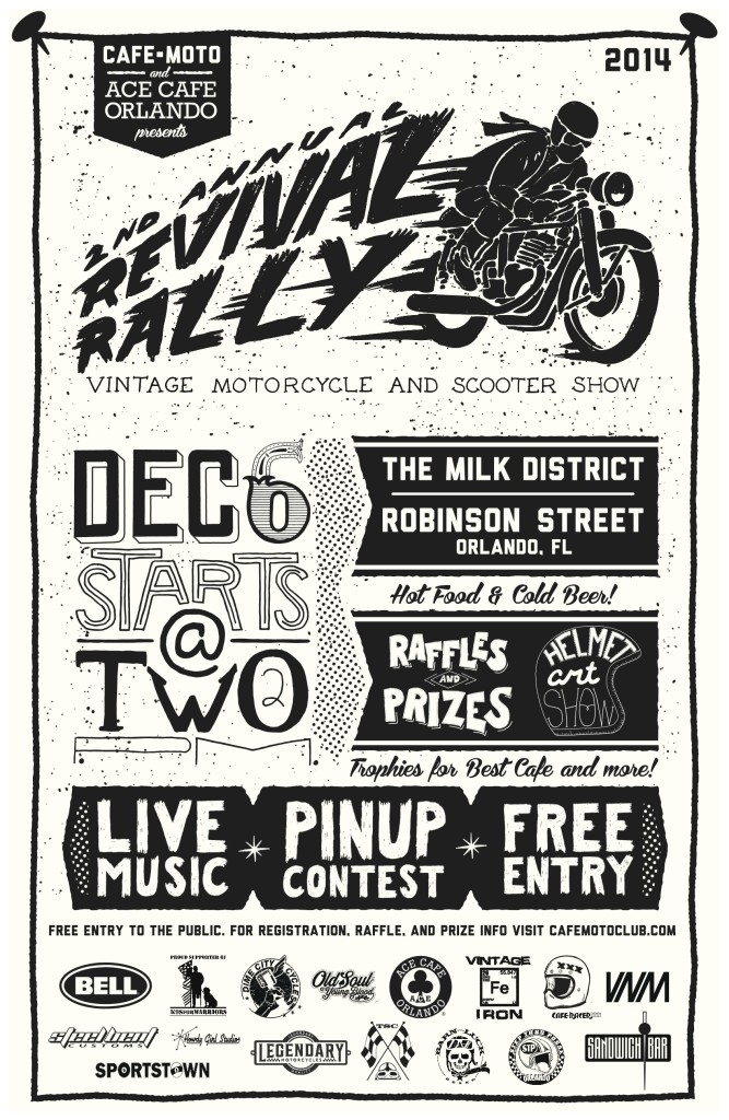 Revival Rally Vintage Motorcycle & Scooter Show @ Orlando   Florida   United States