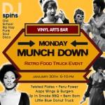 Monday Munch Down-Vinyl Arts Bar @ Orlando | Florida | United States